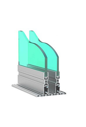 eltolható üvegfal