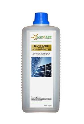 nanocare vízlepergető üveg felületre, 1 liter/60 m2 felülethez