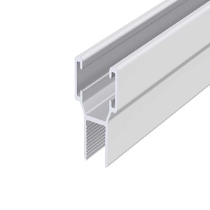 nagy H-profil, alumínium, 8 mm, 6 m