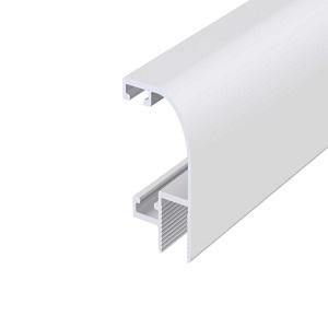 90 fokos H-profil, aluminium, 8 mm, 6 m
