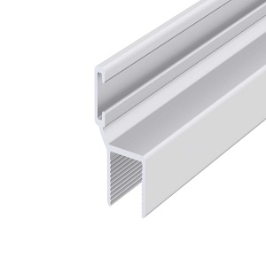 kis h-profil, alumínium, 10 mm, 6 m