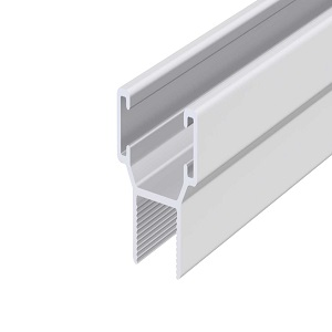 nagy H-profil, alumínium, 10 mm, 6 m